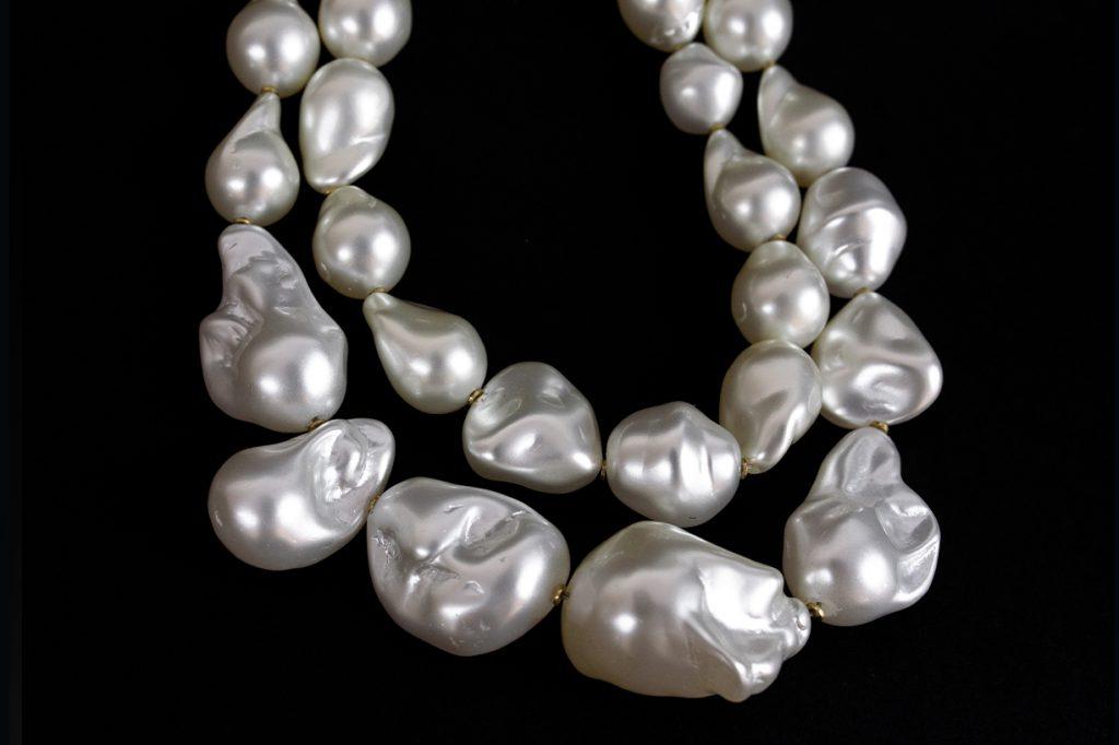 Collana di perle scaramazze